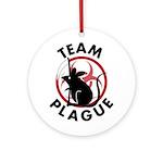 Team Plague Ornament (Round)