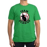 Team Plague Men's Fitted T-Shirt (dark)