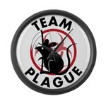 Team Plague Large Wall Clock