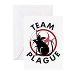 Team Plague Greeting Cards (Pk of 10)