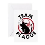 Team Plague Greeting Card