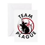 Team Plague Greeting Card