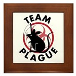 Team Plague Framed Tile