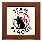 Team Plague Framed Tile