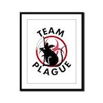 Team Plague Framed Panel Print