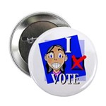 I Vote Button