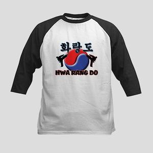 Hwa Rang Do Kids Baseball Jersey