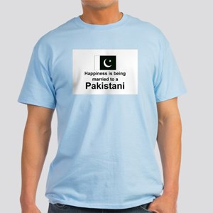 Happily Married To A Pakistani Light T-Shirt