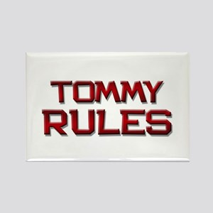 tommy rules Rectangle Magnet