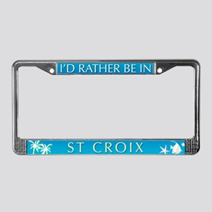 St Croix License Plate Frame