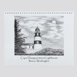 Cape Disappointment Wall Calendar
