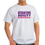 Australian Terrier Agility Light T-Shirt