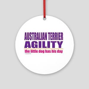 Australian Terrier Agility Ornament (Round)