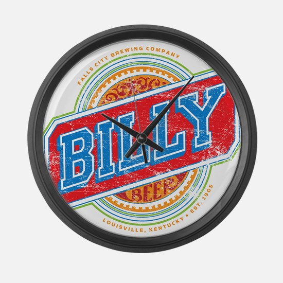 Billy Beer Large Wall Clock