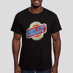 Billy Beer Men's Fitted T-Shirt (dark)