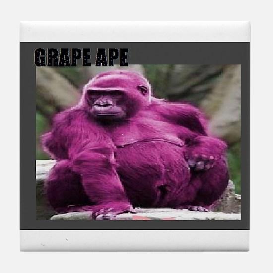 GRAPE APE # 1 Tile Coaster