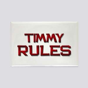 timmy rules Rectangle Magnet