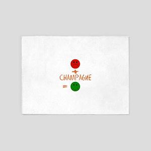 Champagne 5'x7'Area Rug
