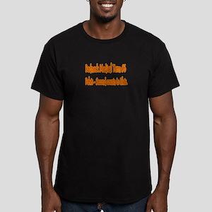Pelvis Men's Fitted T-Shirt (dark)