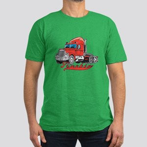 Truckin' Men's Fitted T-Shirt (dark)