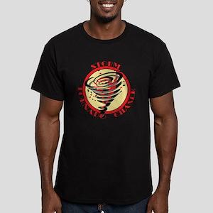 Storm Tornado Chaser Men's Fitted T-Shirt (dark)
