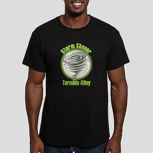 Storm Chaser Logo Men's Fitted T-Shirt (dark)