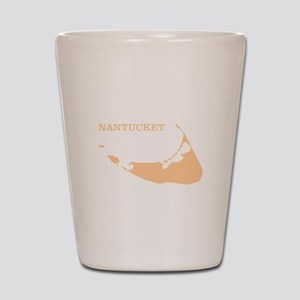 Nantucket Island Sand Shot Glass
