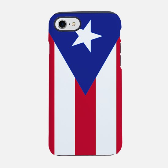 Flag of Puerto Rico - Bandera  iPhone 7 Tough Case