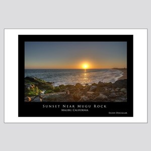 California Coast - PCH Large Poster
