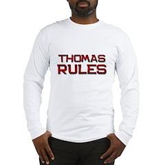 thomas rules Long Sleeve T-Shirt