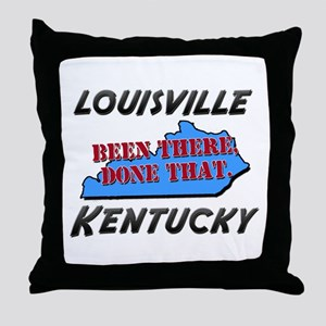 louisville kentucky - been there, done that Throw