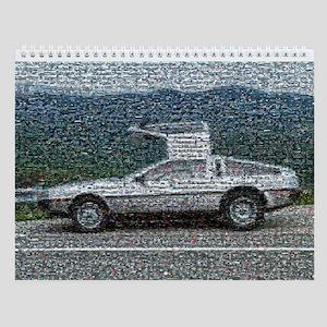 De Lorean Photomosaic Calendar