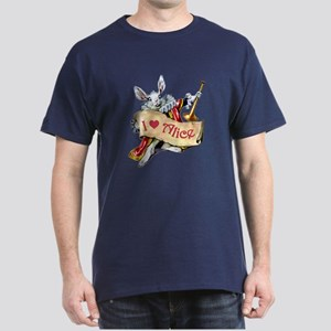 I LOVE ALICE - BLUE EYES Dark T-Shirt