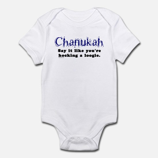 Chanukah, Say It Like You're Infant Bodysuit