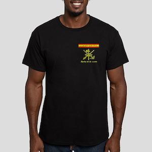 Spanish Legion Men's Fitted T-Shirt (dark)