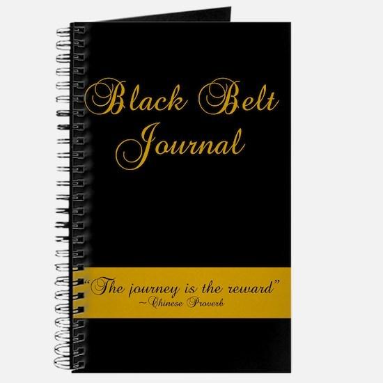 Black Belt Journey Journal