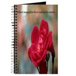 Inspirational Red Rose Journal