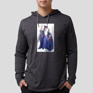 The Blue Wizard Long Sleeve T-Shirt