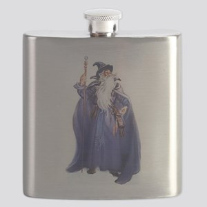 The Blue Wizard Flask