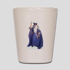 The Blue Wizard Shot Glass