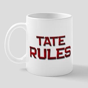 tate rules Mug