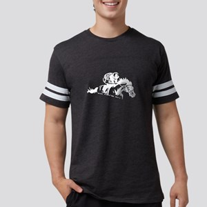 Jockey Horse Rider - And They're Off T-Shirt