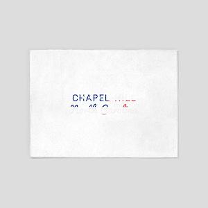 Chapel Hill North Carolina 5'x7'Area Rug