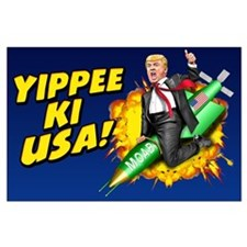 Trump MOAB Large Poster