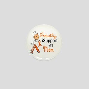 iSupport My Mom SFT Orange Mini Button
