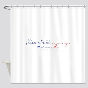 Steamboat Springs Colorado Shower Curtain