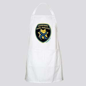 Thin Blue Line Support Police BBQ Apron