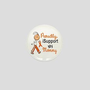 iSupport My Mommy SFT Orange Mini Button