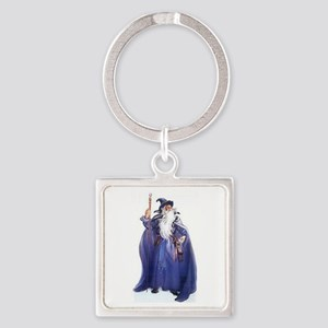 The Blue Wizard Keychains