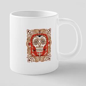 Skull in Frame Mugs
